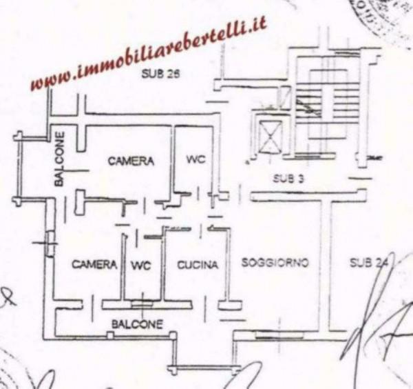 Appartamento in vendita a Peschiera Borromeo, San Bovio, Con giardino, 125 mq - Foto 2