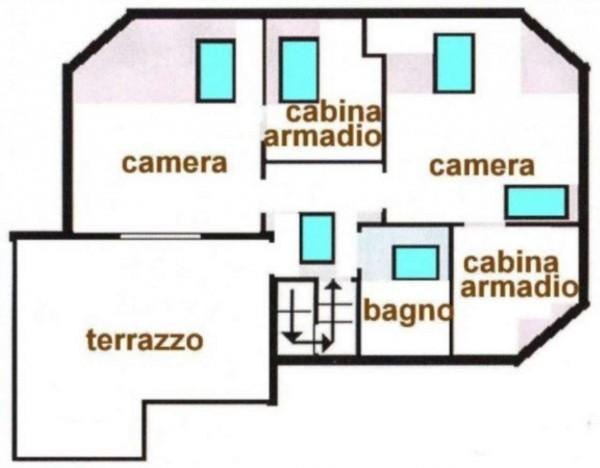 Appartamento in vendita a Peschiera Borromeo, Con giardino, 200 mq - Foto 2