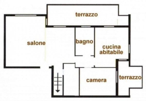 Appartamento in vendita a Peschiera Borromeo, Con giardino, 200 mq - Foto 3