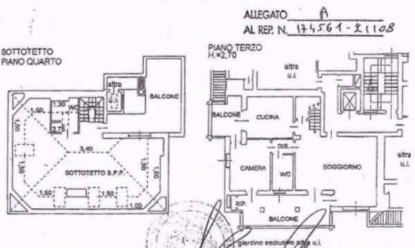 Appartamento in vendita a Peschiera Borromeo, San Bovio, Con giardino, 230 mq - Foto 2