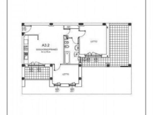 Appartamento in vendita a Milano, Salgari, Tito Livio, Con giardino, 90 mq - Foto 2