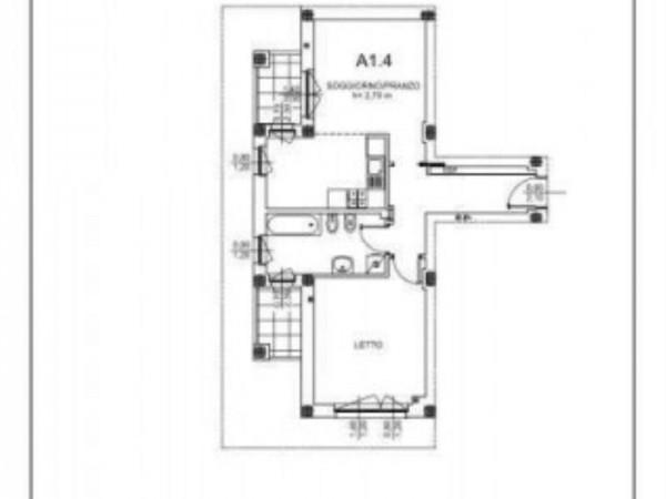 Appartamento in vendita a Milano, Salgari, Tito Livio, Con giardino, 73 mq - Foto 2