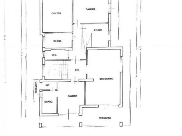 Villa in vendita a Pistoia, Stadio, Con giardino, 380 mq - Foto 3