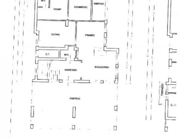 Villa in vendita a Pistoia, Stadio, Con giardino, 380 mq - Foto 4