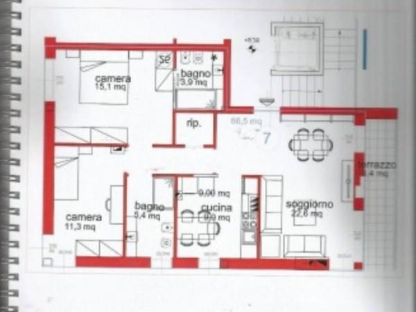 Appartamento in vendita a Lavagna, Centro, Arredato, 50 mq - Foto 8
