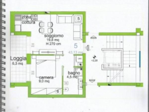 Appartamento in vendita a Lavagna, Centro, Arredato, 50 mq - Foto 14