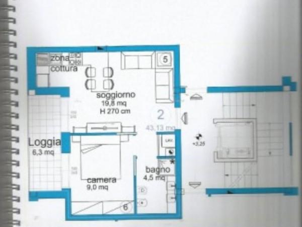Appartamento in vendita a Lavagna, Centro, Arredato, 50 mq - Foto 4