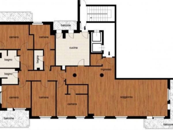 Appartamento in vendita a Milano, Sempione, 270 mq - Foto 14