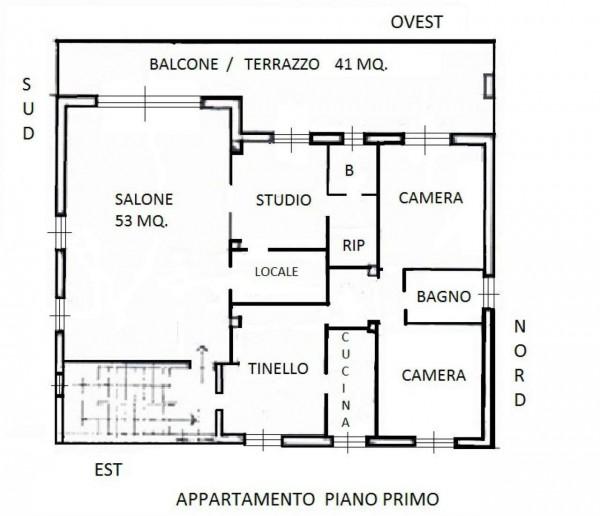 Villa in vendita a Renate, Centro, Con giardino, 460 mq - Foto 20