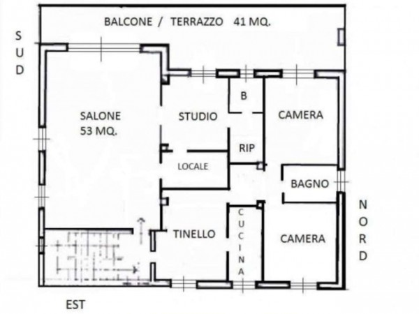 Villa in vendita a Renate, Centro, Con giardino, 460 mq - Foto 24