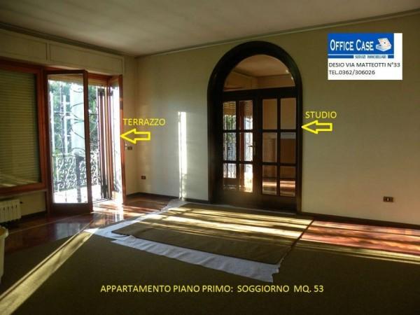 Villa in vendita a Renate, Centro, Con giardino, 460 mq - Foto 11