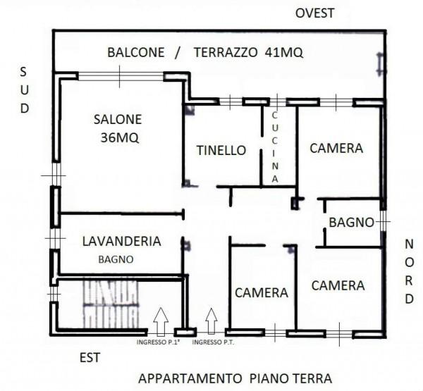 Villa in vendita a Renate, Centro, Con giardino, 460 mq - Foto 21