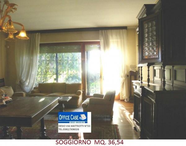 Villa in vendita a Renate, Centro, Con giardino, 460 mq - Foto 9