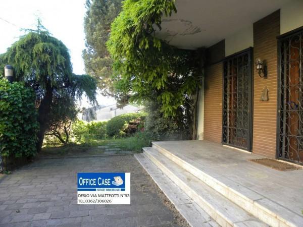 Villa in vendita a Renate, Centro, Con giardino, 460 mq - Foto 17