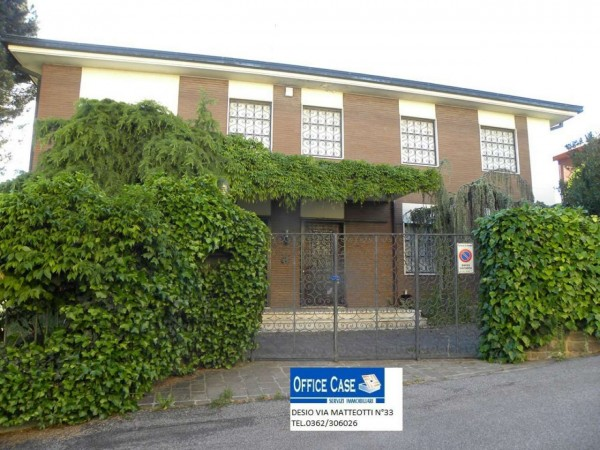 Villa in vendita a Renate, Centro, Con giardino, 460 mq - Foto 22