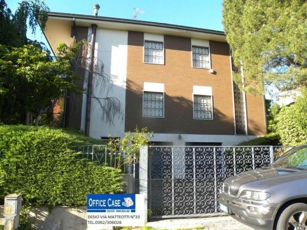 Villa in vendita a Renate, Centro, Con giardino, 460 mq - Foto 16