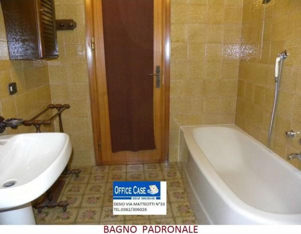 Villa in vendita a Renate, Centro, Con giardino, 460 mq - Foto 4