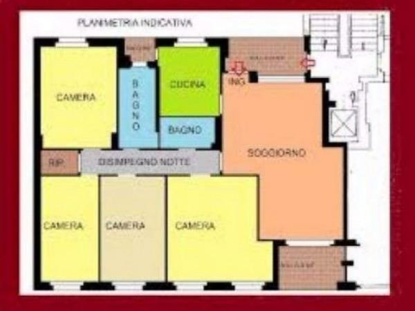 Appartamento in vendita a Milano, San Siro - Lotto, Novara, San Siro, 230 mq - Foto 2