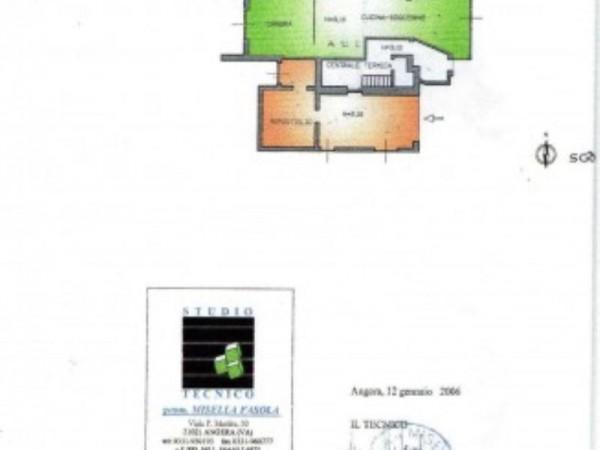 Casa indipendente in vendita a Angera, 650 mq - Foto 3