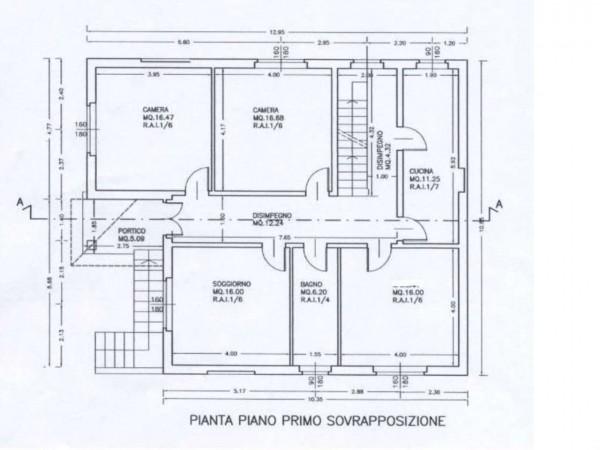 Casa indipendente in vendita a Comerio, 240 mq - Foto 3