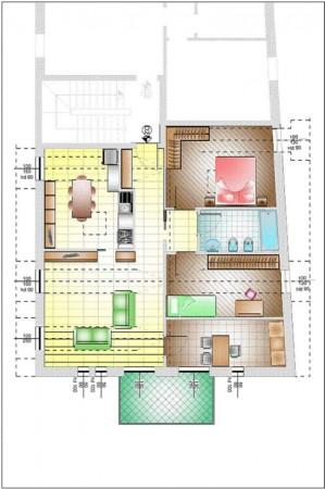 Appartamento in vendita a Gavirate, Acli Zona Stazione, 110 mq - Foto 15
