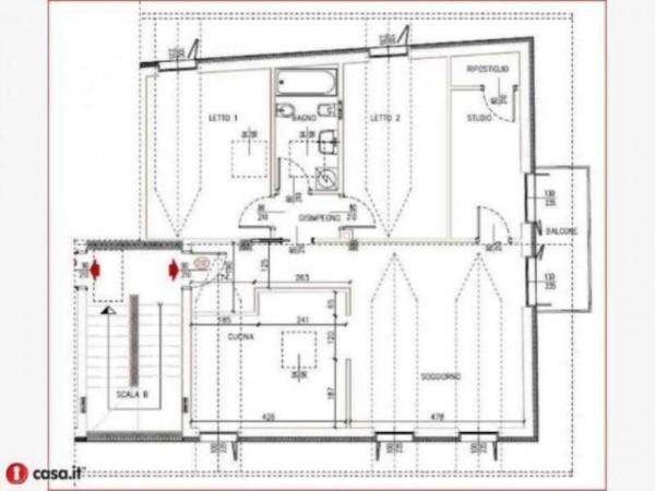 Appartamento in vendita a Gavirate, Acli Zona Stazione, 110 mq - Foto 18
