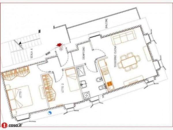 Appartamento in vendita a Gavirate, Acli Zona Stazione, 80 mq - Foto 15