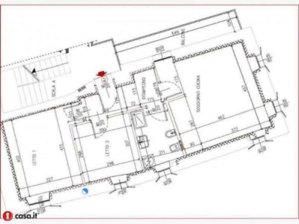 Appartamento in vendita a Gavirate, Acli Zona Stazione, 80 mq - Foto 14