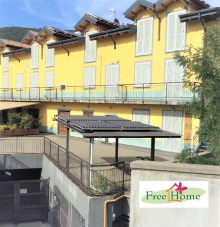 Appartamento in vendita a Gavirate, Acli Zona Stazione, 80 mq