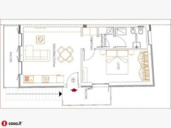 Appartamento in vendita a Gavirate, Acli Zona Stazione, 55 mq - Foto 12