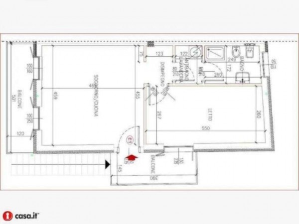 Appartamento in vendita a Gavirate, Acli Zona Stazione, 55 mq - Foto 13