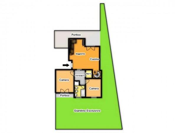 Appartamento in vendita a Brescia, Con giardino, 140 mq - Foto 3