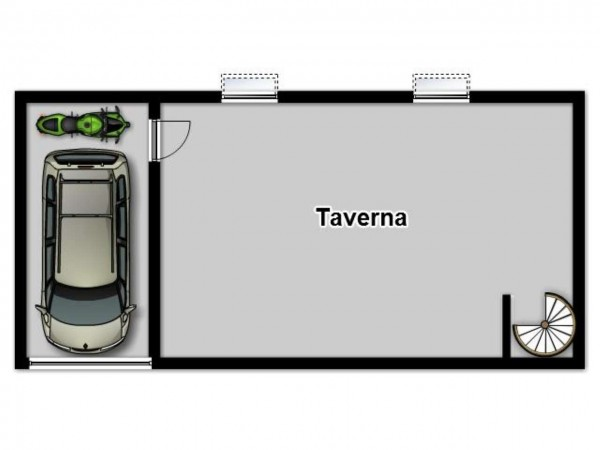 Appartamento in vendita a Brescia, Con giardino, 140 mq - Foto 2