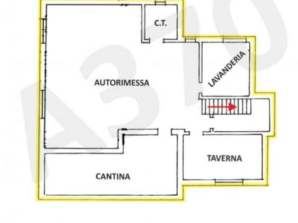 Villa in vendita a Orbassano, Centrale, Arredato, 350 mq - Foto 2