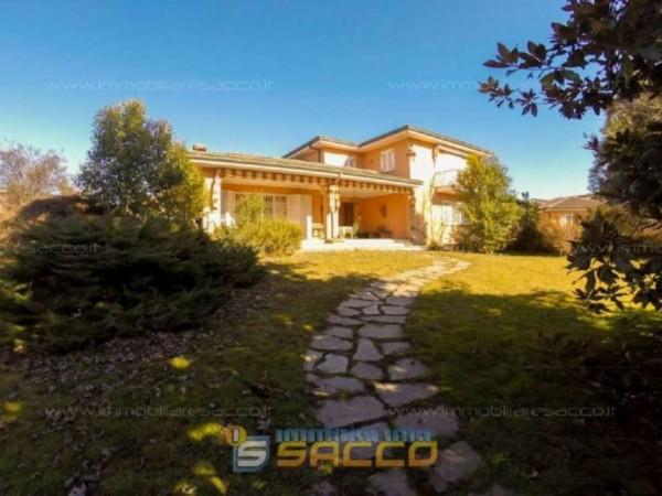 Villa in vendita a Orbassano, Centrale, Arredato, 350 mq