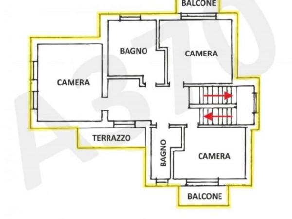 Villa in vendita a Orbassano, Centrale, Arredato, 350 mq - Foto 3