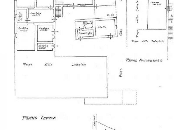 Casa indipendente in vendita a Pratovecchio Stia, Collina Tartiglia, Con giardino, 650 mq - Foto 29