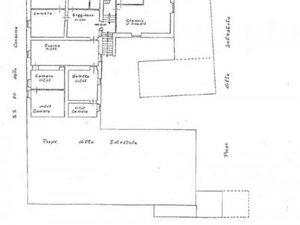 Casa indipendente in vendita a Pratovecchio Stia, Collina Tartiglia, Con giardino, 650 mq - Foto 28