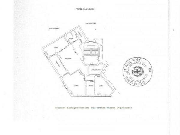 Appartamento in vendita a Milano, 135 mq - Foto 2
