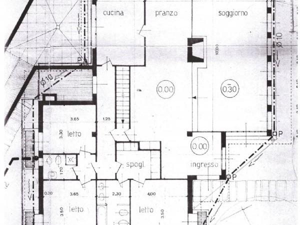 Villa in vendita a San Giuliano Milanese, 400 mq - Foto 2