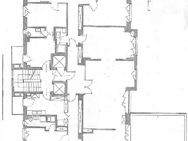 Appartamento in vendita a Milano, Monte Rosa - Fiera, Firenze, Sempione, 270 mq - Foto 2