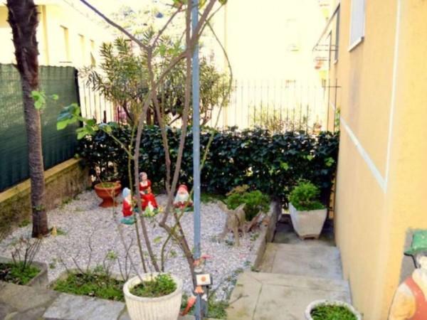 Appartamento in vendita a Recco, Centrale, Con giardino, 100 mq - Foto 3