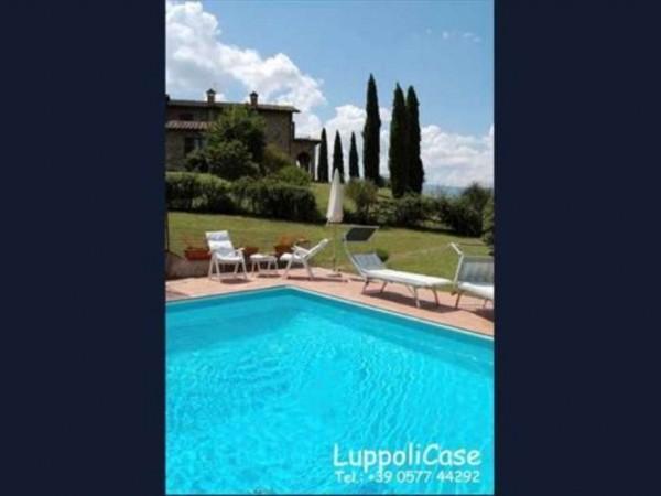 Villa in vendita a San Casciano dei Bagni, Arredato, con giardino, 325 mq - Foto 21