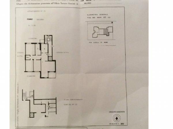 Appartamento in vendita a Milano, Mecenata - Ponte Lambro - Corvetto, Lodi, Forlanini, 135 mq - Foto 2