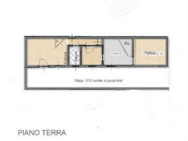 Casa indipendente in vendita a Inveruno, Semicentro, Arredato, 80 mq - Foto 2