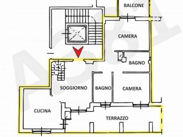 Appartamento in vendita a Nichelino, 160 mq - Foto 5