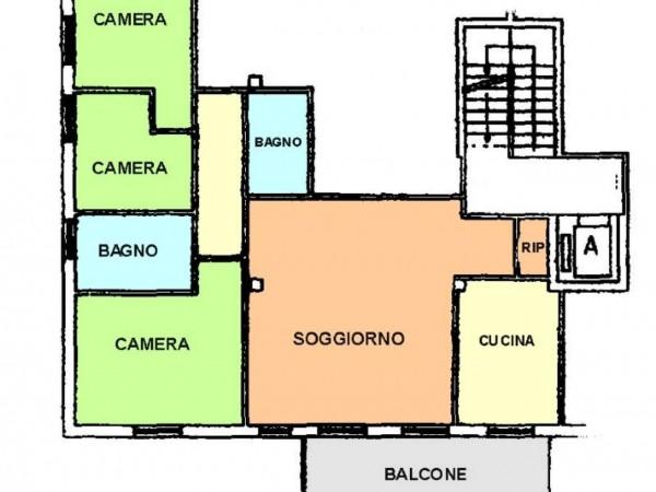 Appartamento in vendita a Botticino, Mattino, 130 mq - Foto 2