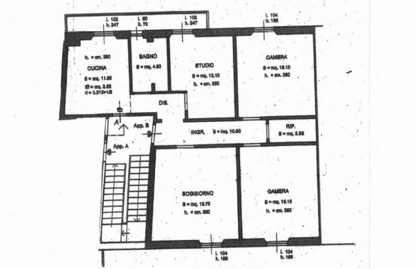 Appartamento in vendita a Firenze, Savonarola, 95 mq - Foto 2