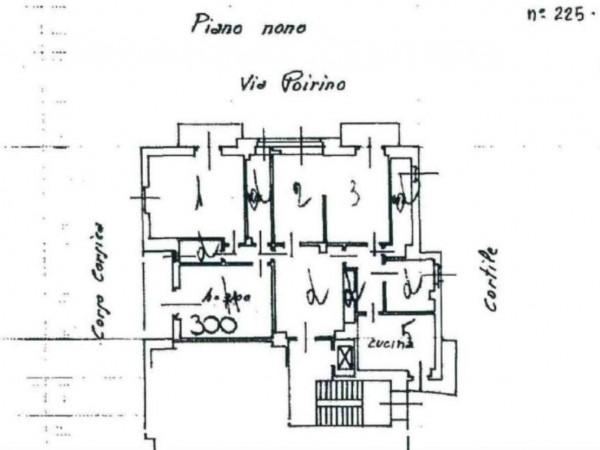 Appartamento in vendita a Torino, Lingotto, 140 mq - Foto 11