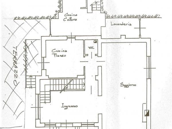 Casa indipendente in vendita a Torino, Cavoretto, 350 mq - Foto 5